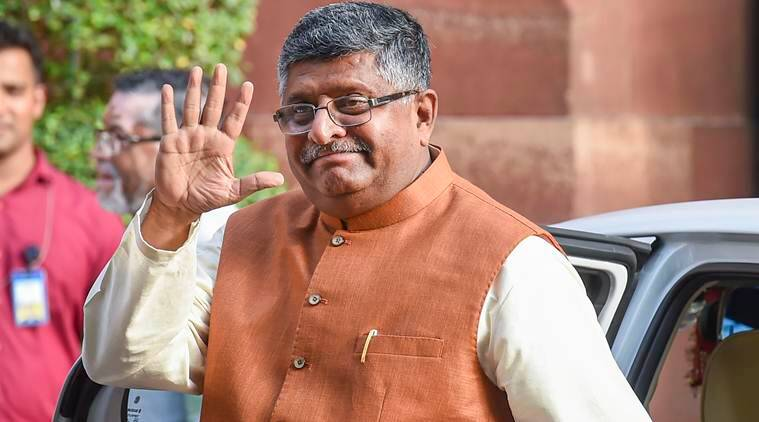 Ravi Shankar prasad, all-India judicial service, india Law Ministry, Law Minister ravi shankar, india news