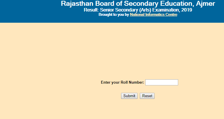 rajresults.nic.in 2019, RBSE 12th, bser, rajresults