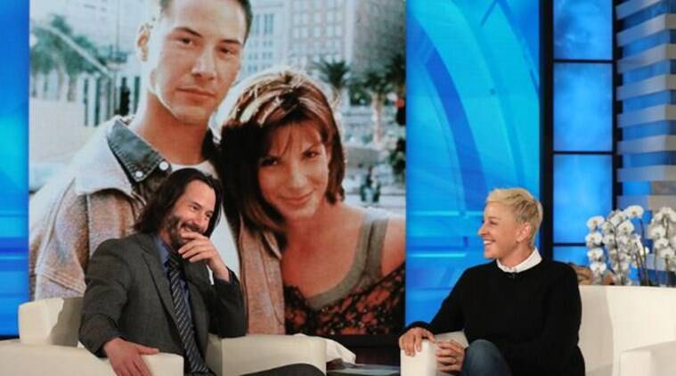 Keanu Reeves reveals he fancied Sandra Bullock on Speed