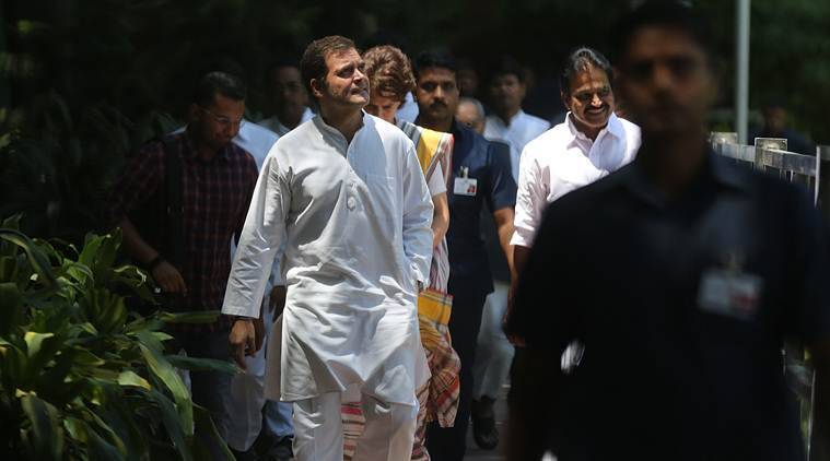 Rahul Gandhi resigning as congress president, asks party to look for his successor