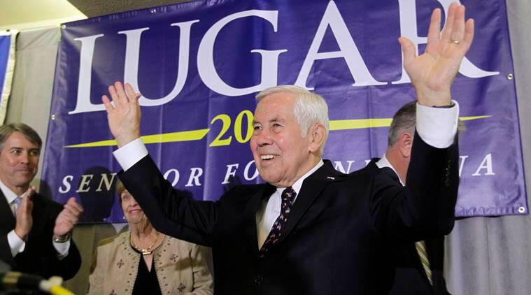 Richard Lugar, Richard Lugar Cold war, Cold Richard Lugar, Richard Lugar death, Richar Lugar Soviet Union, USSR Richard Lugar, Richard Lugar US nuclear arsenal, Indian Express, US Russia Cold War, Indian Express