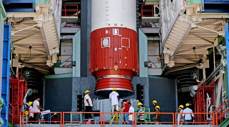 Isro successfully launches earth observation satellite risat 2b