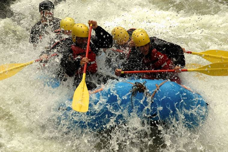 river rafting, rishikesh, indian express, summer holiday