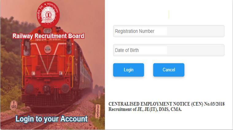 rrb rrb je, rrb je admit cardm, rrb je admit card 2019, RRB JE admit card download, indianrailways.gov.in, RRB JE 2019, RRB JE 2019 hall ticket, RRB JE exam date, RRB JE hall ticket link, RRB JE hall ticket 2019, RRB JE city initimation, RRB, RRB jobs, indian railways JE admit card, indian railwys, govt jobs, sarkari naukri, sarkari naukri result, employment news