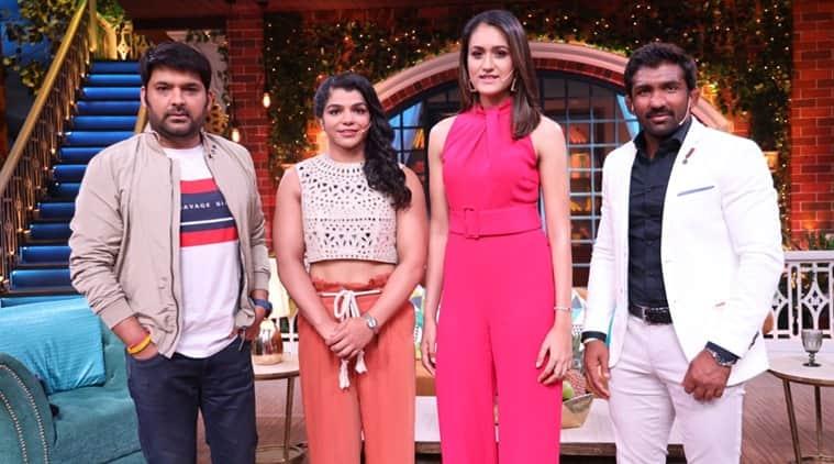 The kapil sharma show preview sakshi malik yogeshwar dutt manika batra