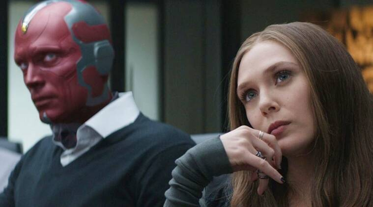 scarlet witch and vision marvel actors