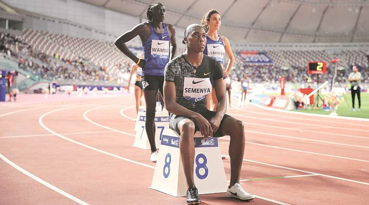 International Association of Athletics Federations, Caster Semenya, Payoshini Mitra, athletics, Olympics athlete, female athletes, Caster Semenya, Caster Semenya Court of Arbitration for Sport, cas, sports news, indian express