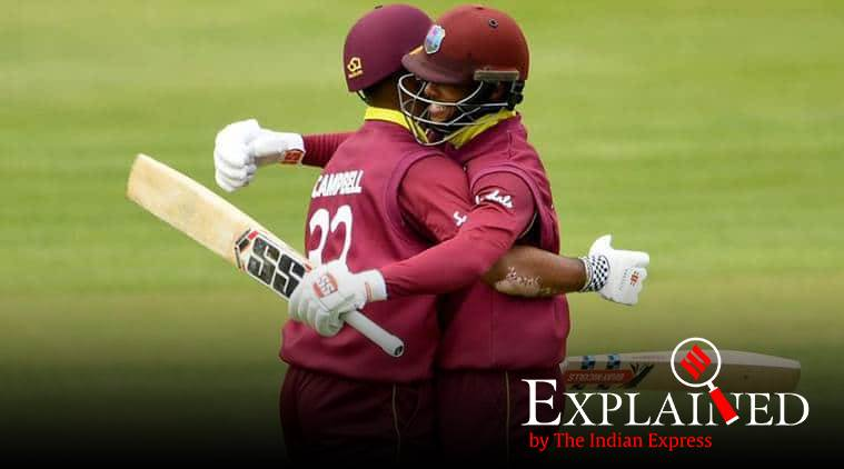 John Campbell, Shai Hope, new world record, cricket partnership records, world cup 2019, west indies vs ireland, cricket records, explained news, express explained, indian express explained, cricket explained, explained today