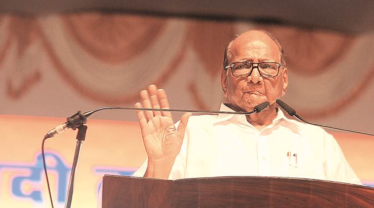 Sharad Pawar questions veracity of EVMs