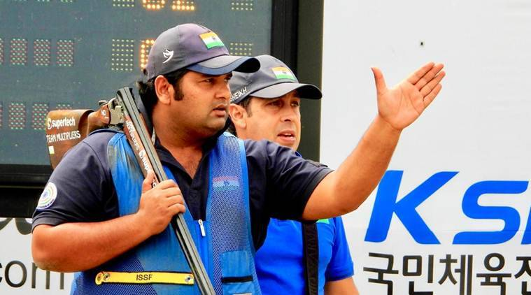 Sheeraz Sheikh records perfect opening day in men's skeet in South Korea