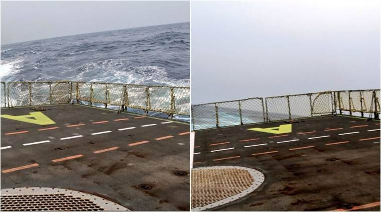 Cyclone fani, indian navy, INS Dega Vizag, indian navy ship roll, navy ship roll on bay of bengal, cyclone fani in odisha, cyclone fani in bengal, cyclone news
