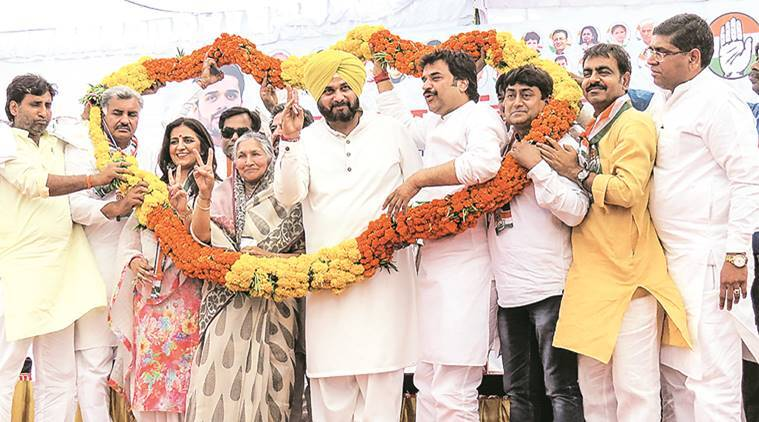 No rallies in Punjab so far, Sidhu stars in Congress campaign in other states