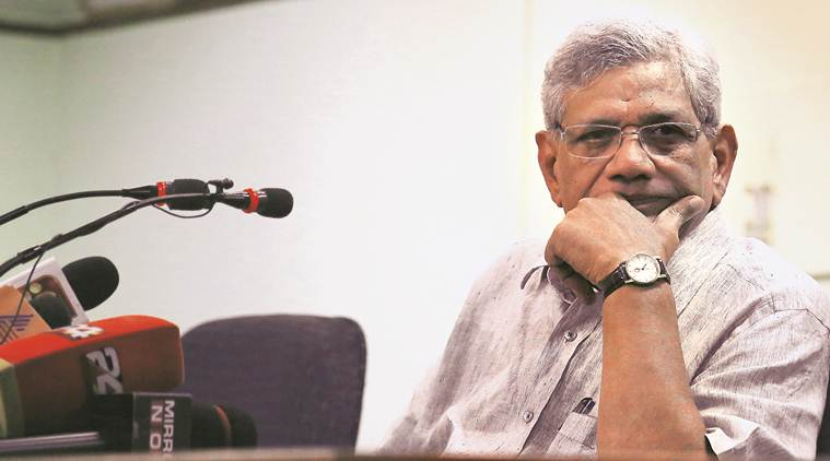 BJP injecting posion into society, economic growth impossible in this environment: Yechury
