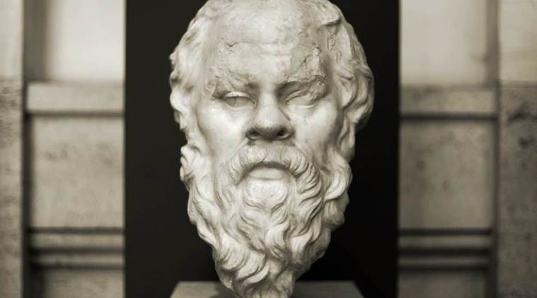 On the birthday of Socrates, what can be said about the philosopher whom nobody has read?