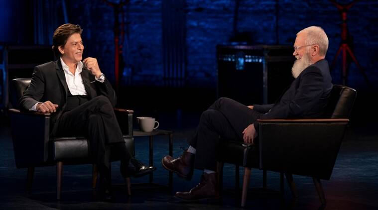 Shah Rukh Khan shoots with David Letterman for Netflix special