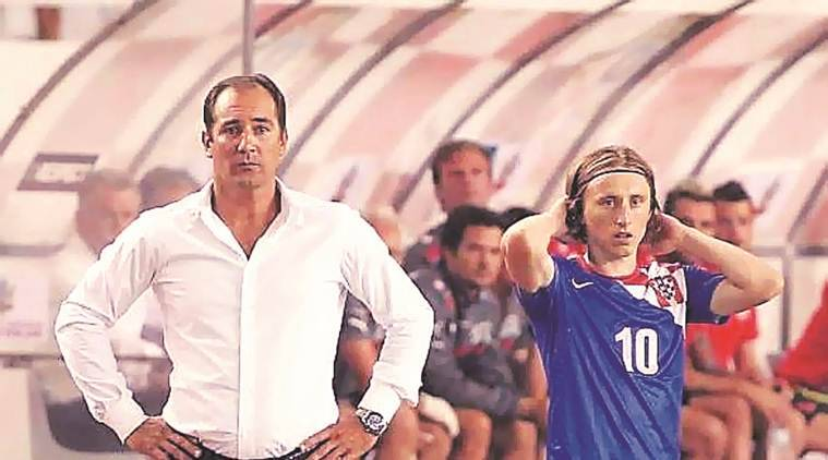 Club star, pop artist: Croatian legend is India coach