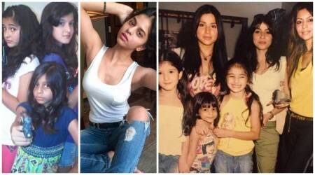 Suhana Khan birthday old photos Ananya Panday, Shanaya Kapoor