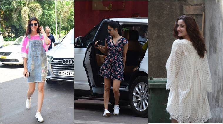 Alia Bhatt, Kriti Sanon and Katrina Kaif give summer fashion goals in these outfits