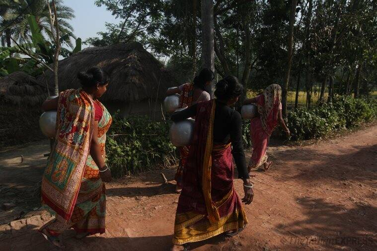 lok sabha elections 2019, 2019 general election, west bengal, bengal lok sabha elections, sundarbans, sundarbans elections, sundarbans tribal women, sundarbans adivasi, Sundarbans women issues, india news, indian express