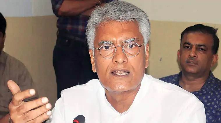 Sunil Jakhar, Sunil Jakhar Congress, Congress Sunil Jakhar, Sunil Jakhar Sunny Deol, Sunny Deol Gurdaspur, Sunil Jakhar Gurdaspur, Election news, Indian Express, Election news