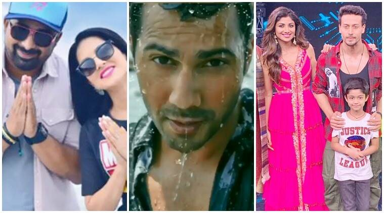 Have you seen these videos of Sunny Leone, Varun Dhawan and
