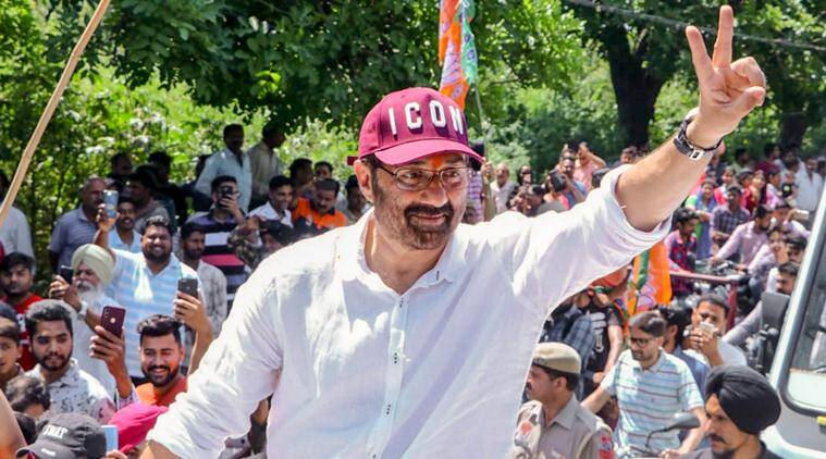 Lok Sabha elections 2019, Lok Sabha elections, 2019 Lok Sabha elections, punjab Lok Sabha elections, model code of conduct, election news, sunny deol, sunny deol campaigning,