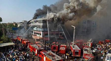 Surat, Surat news, Gujarat, Gujarat news, Surat municipal corporation, SMC, Surat fire, indian express