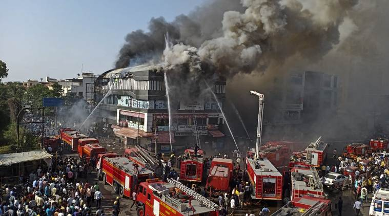 Day after Surat coaching centre fire, police arrests one; two absconding