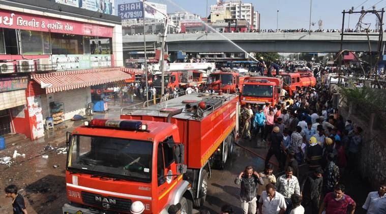 Surat coaching centre fire latest news, death toll, pictures and videos