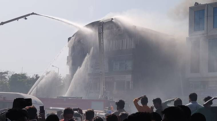 Surat fire, Surat coaching centre fire, dead in surat fire, death toll in surat fire, surat fire death toll, surat coaching centre fire, indian express