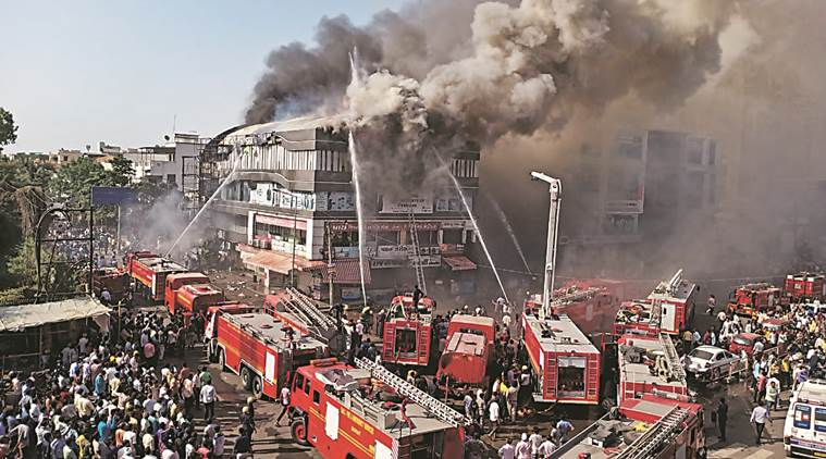 Surat coaching centre fire: Most were awaiting Class XII results today
