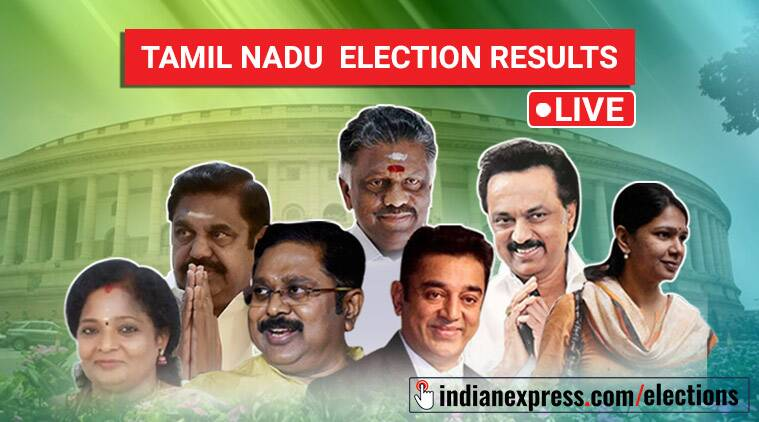 Tamil Nadu Election Results 2019 LIVE Updates: