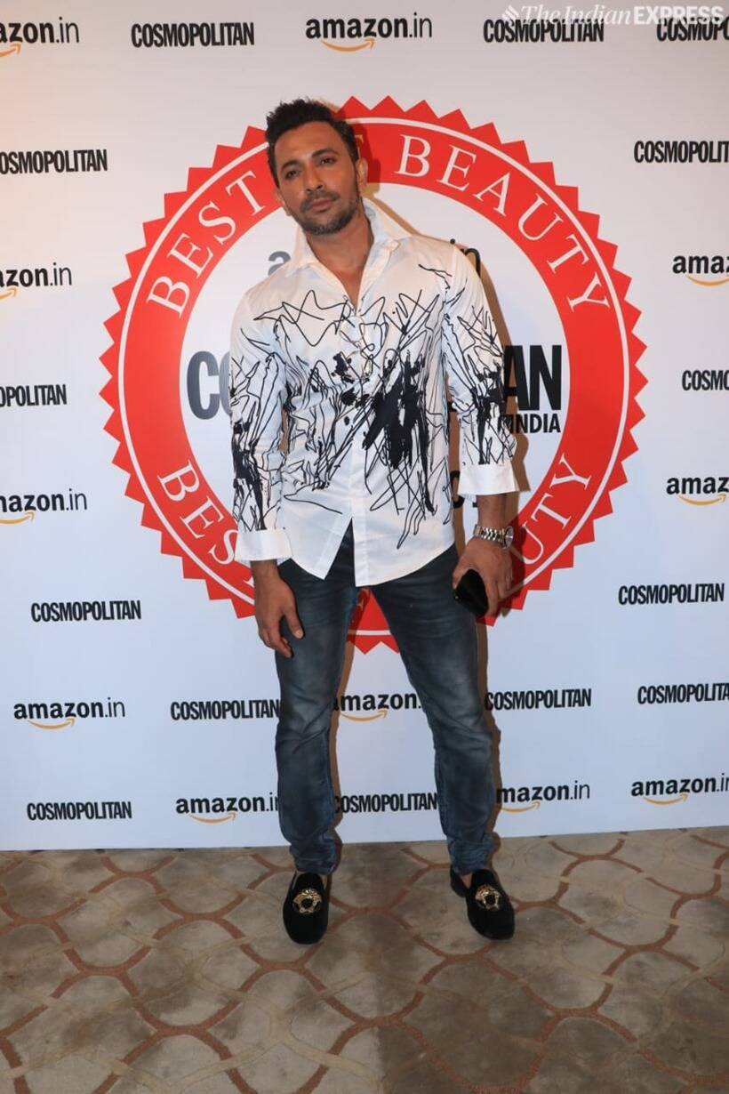 terrence lewis at Cosmopolitan Beauty Awards 2019
