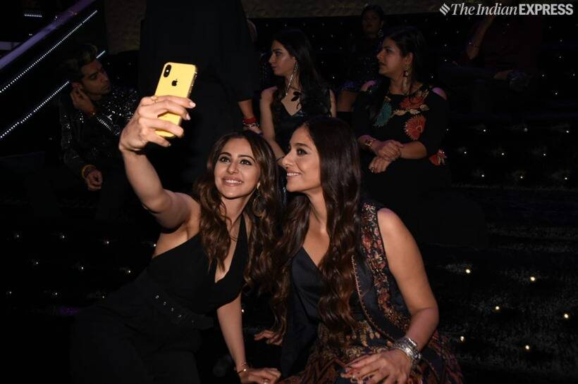 rakul preet singh and tabu at The Voice