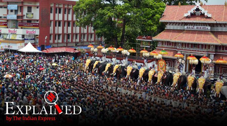 Pleasing Thrissur Pooram 2019 Highlights Its A Fitting End To This Download Free Architecture Designs Scobabritishbridgeorg