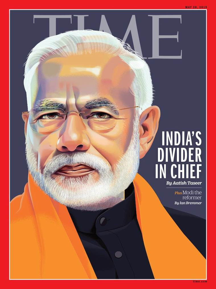TIME magazine cover features PM Modi with controversial headline 'India's divider in chief'