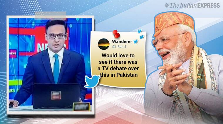 Pak Reporter's Confusion Over The Word 'Abhinandan' In PM Modi's Speech Has The Internet Facepalming!