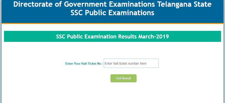 TS Telangana SSC Results 2019 Manabadi declared at www bse