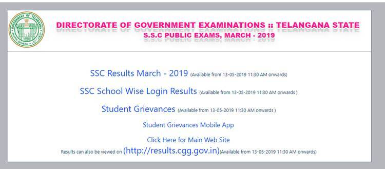 Manabadi AP SSC 10th Results 2019 declared at www bseap gov