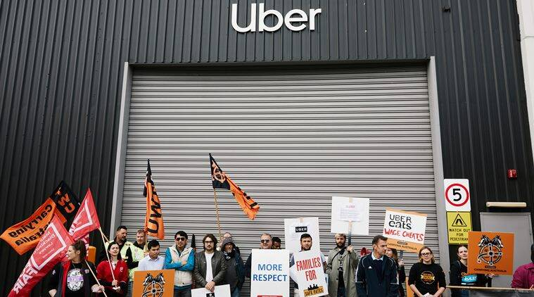 Uber drivers' day of strikes circles the globe before the company's