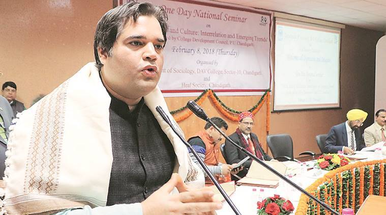 varun gandhi, varun gandhi on opposition, varun gandhi pakistan remark, bjp candidate, pilibhit candidate, lok sabha elections, election news, indian express