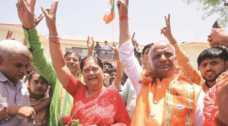 Months after voting Vasundhara Raje out, Rajasthan throws weight behind PM Modi