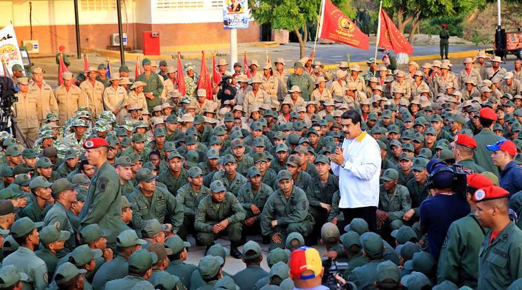 Venezuela, Venezuela Norway, Venezuela uprising, uprising in Venezuela, Nicolas Madura, Norway Venezuela talks, Venezuela Norway, Nicolas Madura Norway, Indian Express, World news, Venezuela news
