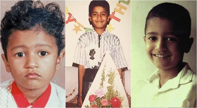 vicky kaushal childhood photos