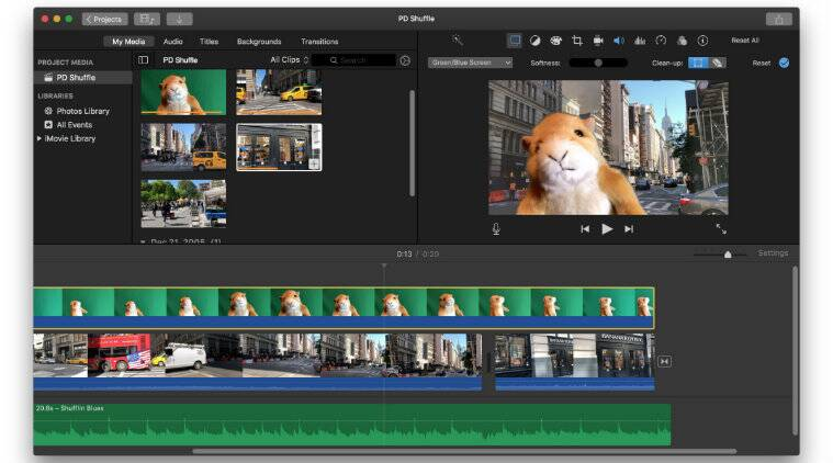 free online video editing software special effects