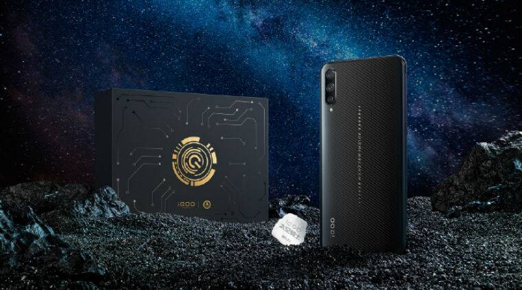Vivo iqoo space knight edition with snapdragon 855 12gb ram launched