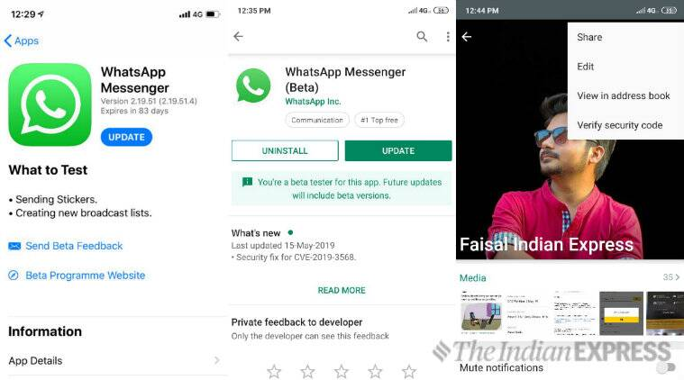 WhatsApp beta updates for iOS and Android brings fix for spyware vulnerability, and more