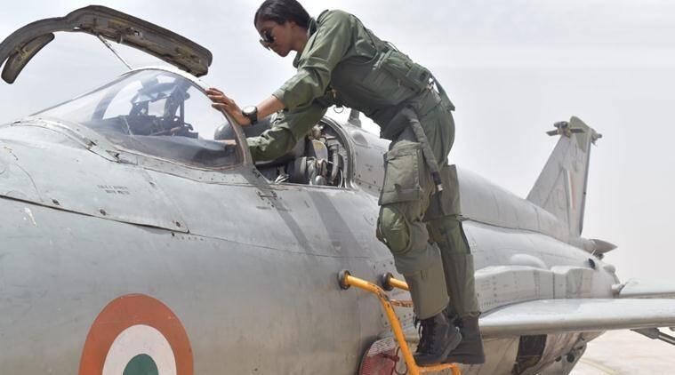 Flt Lt Bhawana Kanth is first woman fighter pilot to qualify for combat duty
