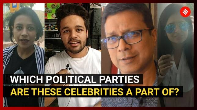 Which political parties are these celebrities a part of?
