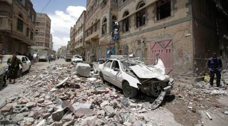 UN: Airstrike in northwest Yemen kills 7 children, 2 women
